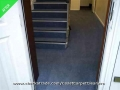 After staircase carpet clean