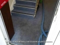 Staircase carpet clean